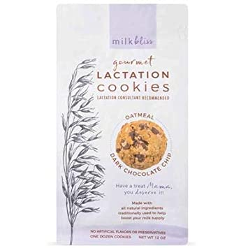 MilkBliss galletas de lactancia suave horneadas para la ...