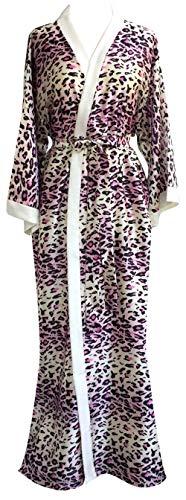 (JANA JIRA Women's Long Ankle Length Robe for Women Plus Size Nightgowns, Fantacy-A86, XXL)