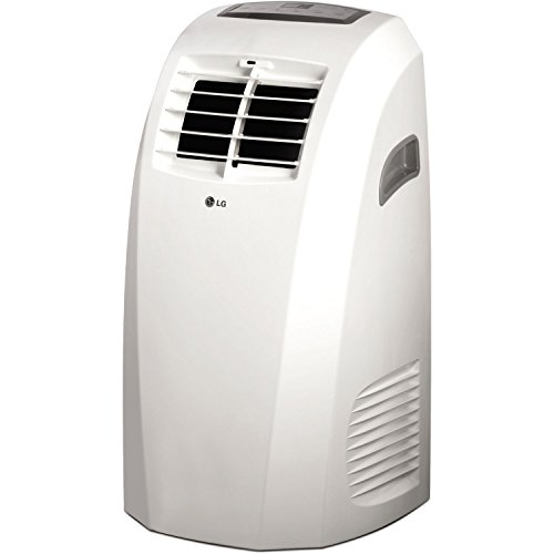 LG LP1015WNR 115V Portable Air Conditioner with Remote Control in White for Rooms up to 250-Sq. Ft. - Lg Air Conditioning Units