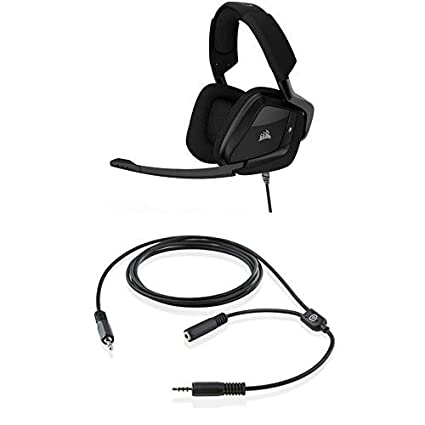 43ce7fdcece CORSAIR VOID PRO SURROUND Gaming Headset-Dolby 7.1 Surround Sound Headphones  for PC-Works