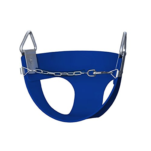 blue residential half bucket without