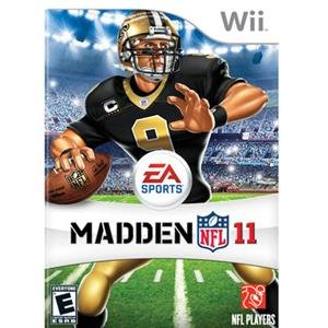 Electronic Arts, Madden NFL 11 Wii (Catalog Category: Videogame Software / Wii Games)