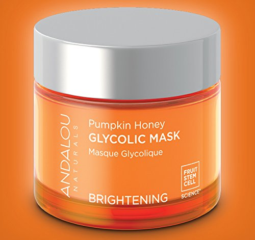 Andalou Naturals Pumpkin Honey Glycolic Mask, 1.7 oz, Cleans & Exfoliates Skin for Brighter, Toned, Youthful Looking Skin by Andalou Naturals (Image #5)