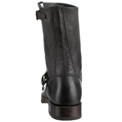 Frye Veronica Shortie Vbo, Stivali da Donna Nero (Black Tumbled Full Grain-77510)