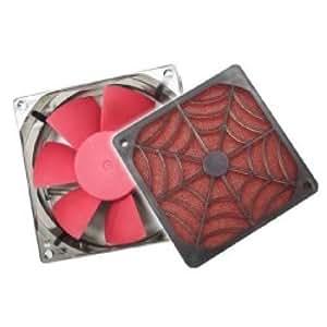 Cablematic - Spider Rejilla + Filtro + Ventilador (120x120mm)