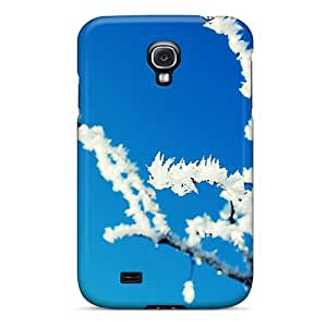 For Galaxy S4 Premium Tpu Case Cover Winter Frosted Tree Protective Case