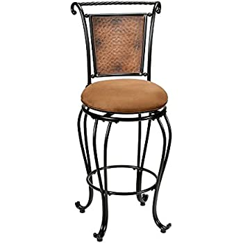 Amazon Com Hillsdale Milan Swivel Counter Stool Kitchen