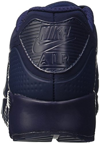 Navy Midnight Homme Max White Basses 90 Navy Leather Bleu Air Midnight Noir EU Nike 40 Baskets PSYxw65p