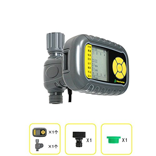 Controller Irrigation Solar (Solar-Powered Automatic lawn Irrigation Controllers Water Sprayer Smart Irrigation Timer Outdoor Sprinkler System)