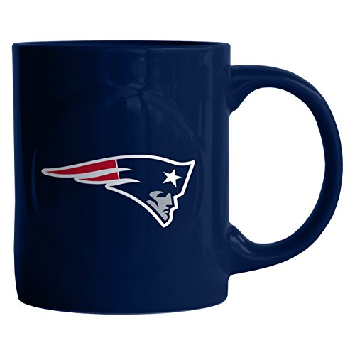 NFL New England Patriots Sculpted Rally Mug, 11-ounce (Coffee Mug Nfl Cup)