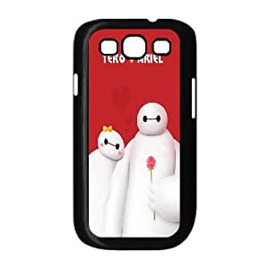 HQYDIY Customised Baymax Plastic Case, Personalised Baymax Hard Cell Phone Case for samsung galaxy s3 I9300