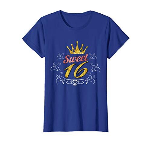 16th Birthday Shirt for Girls Sweet 16 Sixteenth B-Day Gifts