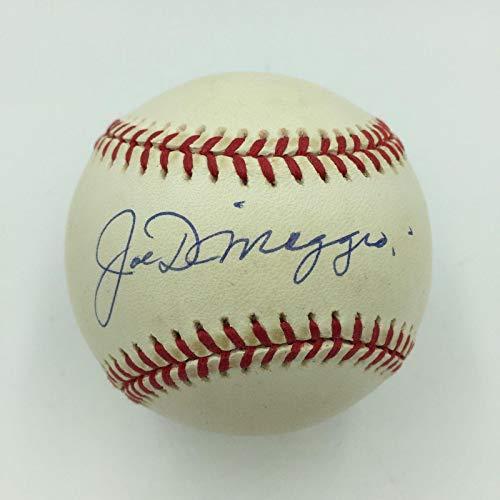 - Joe DiMaggio Signed Ball - Nice Official American League COA - JSA Certified - Autographed Baseballs
