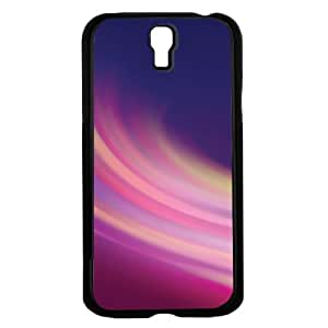 Colorful Pink and Blue Swirl Hard Snap on Phone Case (Galaxy s4 IV)