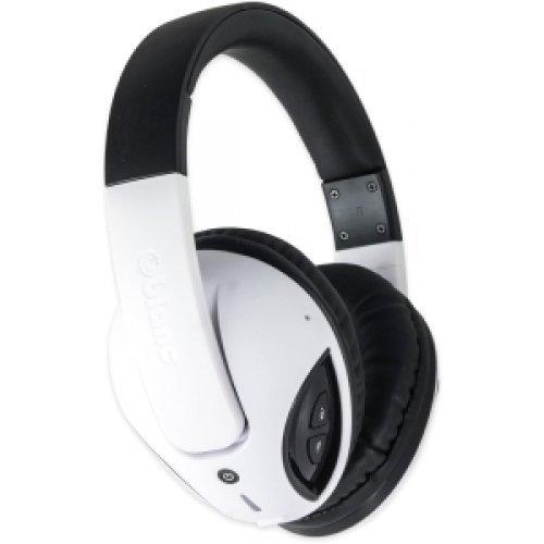SYBA Oblanc COBRA200BT Bluetooth V2.1+EDR Class 2 A2DP, AVRCP Headphones W/ BUILT-IN MIC WHT / OG-AUD23043 /