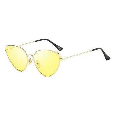 AMZTM Gafas de Sol de Ojo de Gato - Gafas Retro Vintage para ...