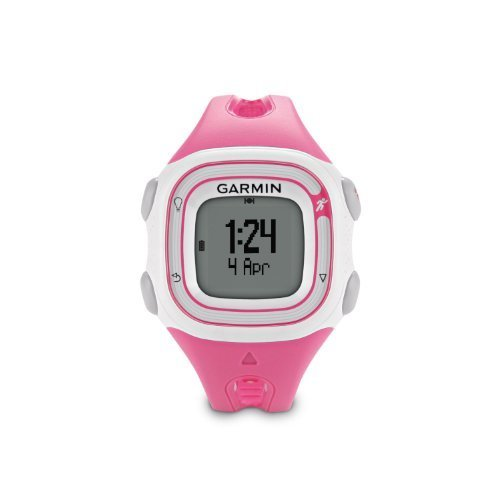 Garmin Forerunner 10 GPS Watch - Pink/White (Certified Refurbished)