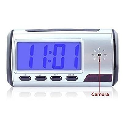 tangmi Mini Spy reloj despertador Cámara Cámara con Mobile ...
