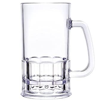 Amazon.com: yanco sm-12-b Stemware cerveza taza, Capacidad ...