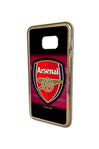 Samsung Galaxy S6 Edge Plus Funda Case Arsenal FC Football Team Logo English Premier(EPL) Series Awesome Tough Funda Case&Cover for Samsung Galaxy S6 Edge Plus