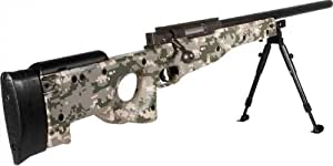 UTG Sport Airsoft Shadow Ops Sniper Rifle, Army Digital