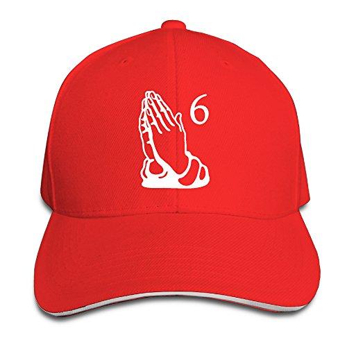 Vintage Sandwich Bill Cap 6 Pray Hands Octobers OVO DRAKE Owl Xmax Baseball Caps