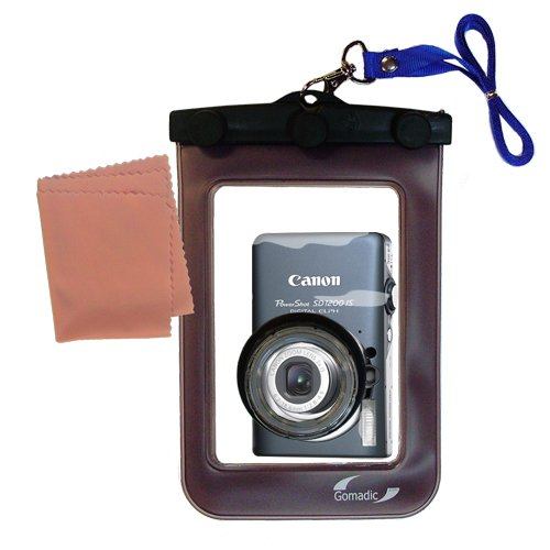 Lightweight Underwater Camera Bag suitable for the Canon Powershot SD1200 IS Waterproof (Canon Waterproof Case Weight)