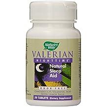 Natures Way Valerian Nighttime Tablet - 50 per pack - 3 packs per case.