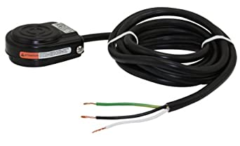 Momentary Single Pedal Black 4- SPDT Wired Normally Open Electrical No Guard Pack Linemaster 491-SC36MP Compact with Mounting Plate Foot Switch