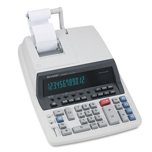 SHRQS2770H QS 2770H Two Color Printing Calculator
