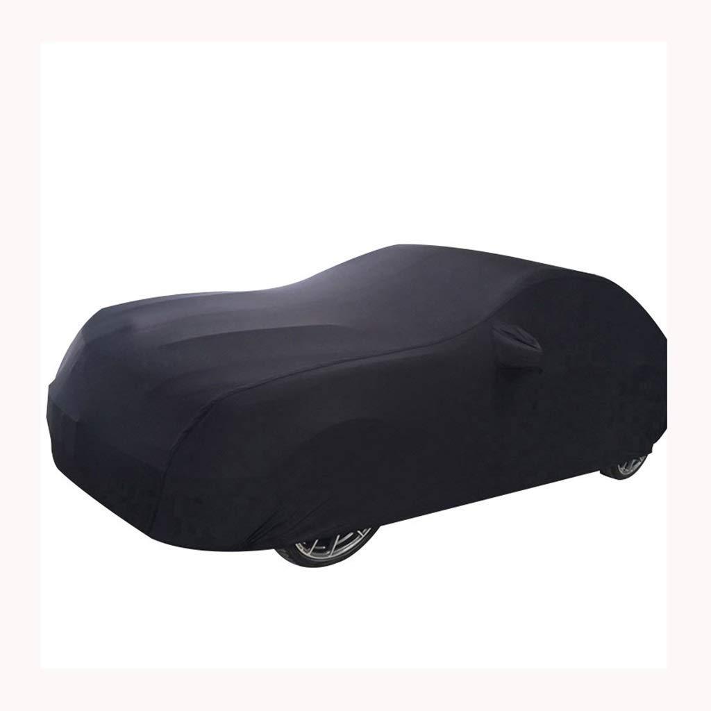 WP@ Cubiertas para AutomóViles, PoliéSter Spandex A Prueba De Viento/Resistente A Los Rayos UV/A Prueba De Agua/A Prueba De Polvo, para Todas Las Condiciones Ajuste