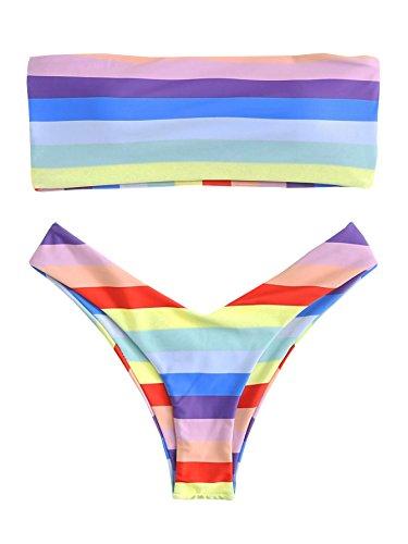 Brazilian Bandeau Bikini Set in Australia - 7
