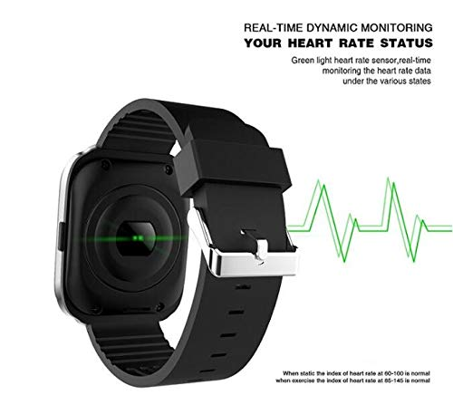 Amazon.com: Bluetooth Smart Watch Waterproof IP67 Fitness ...