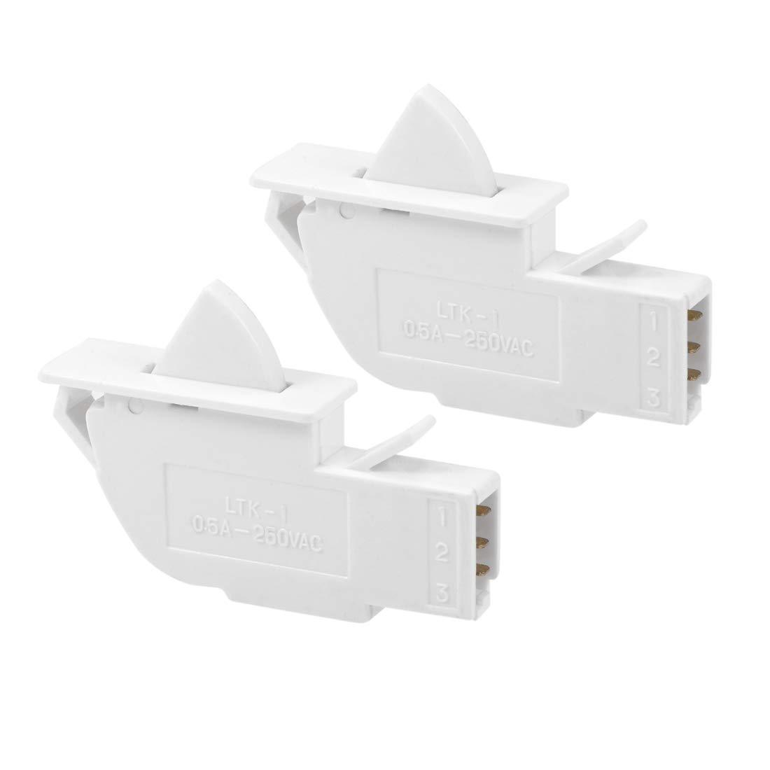 uxcell Interruptor de luz para puerta de refrigerador LTK-1 ...