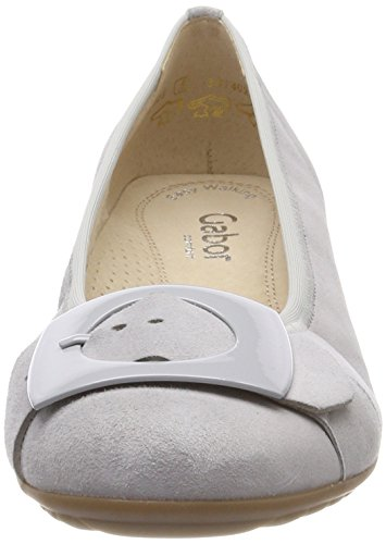Mujer Gabor Grey Bailarinas Shoes Sport Comfort Gris Light para 6wOqXHxw