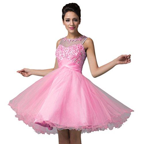 Sleeveless Tulle Short Dresses Wedding