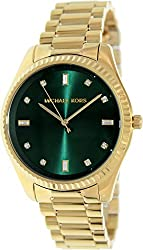 Michael Kors Mid-Size Golden Stainless Steel Blake Three-Hand Glitz Women's watch #MK3226