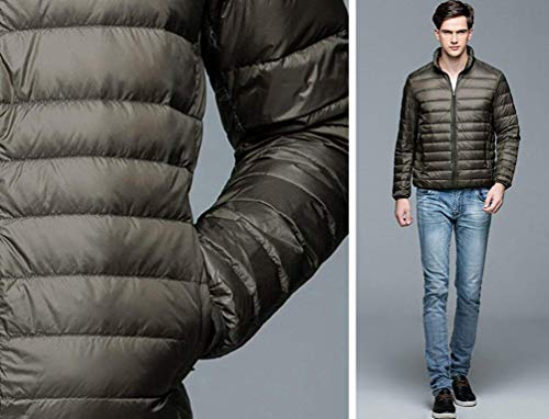 Winter Down Outerwear Fashion Autumn Packable Quilted Down Brands Warm Coat Jacket Easy Armee Jacket and Rm Men's Grün Ultra Down xPwaBqn0T