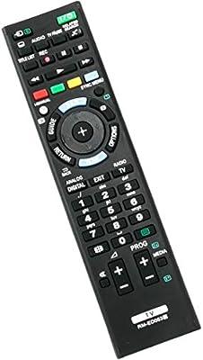 VINABTY RM-ED053 - Mando a distancia de repuesto para Sony TV KDL ...
