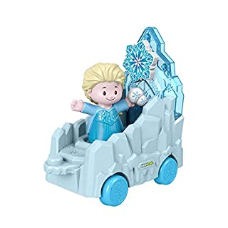 Fisher-Price Little People Disney Princess, Parade Floats (Elsa Frozen 2)
