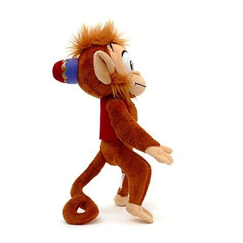 Amazon.com: Abu Monkey from Aladdin Soft Plush Toy 12 by Disney: Toys & Games