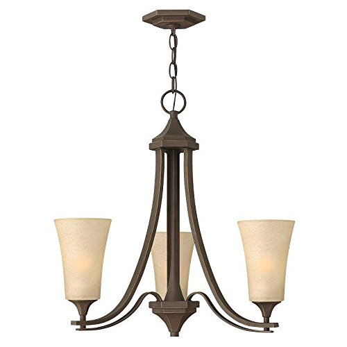 Hinkley Lighting 4633OZ Brantley 3-Light Outdoor Light, Oil Rubbed Bronze