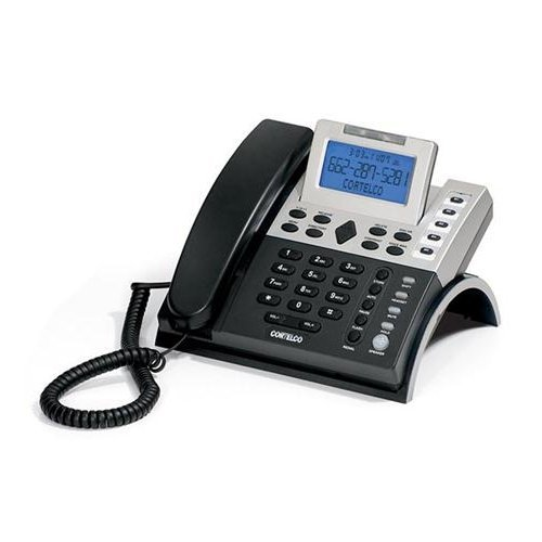 CORTELCO ITT-1211 / 121100TP227S S-L Line Pwr. CID (Speakerphone Cid Lcd)