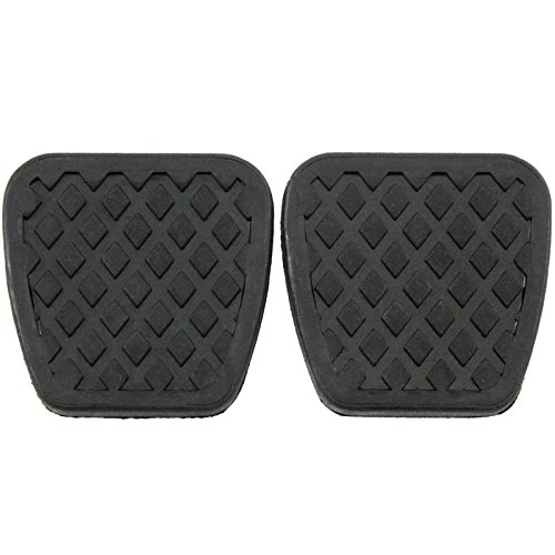 Brake Pedal Manual (2 Brake Clutch Pads Cover for Honda Pedal Rubber Manual Transmission Replacement)
