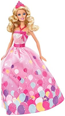 Amazon.es: Cumpleaños Princesa Barbie Doll Set de regalo ...