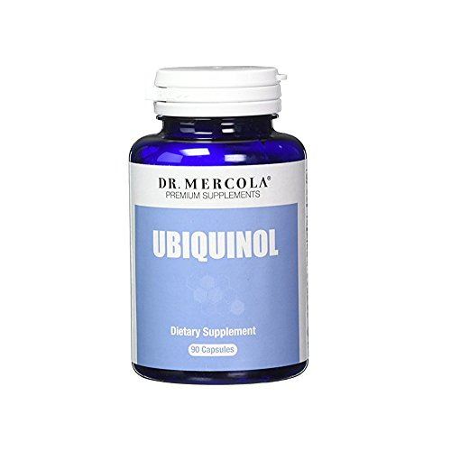 Dr. Mercola Ubiquinol 100mg – 90 Capsules – High Absorption CoQ10 Kaneka Antioxidant – For Heart Health Energy Boost & Muscle Pain Relief – Non GMO & Gluten Free Review