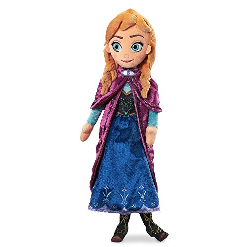 Disney Anna Plush Doll - Frozen - Medium Multi