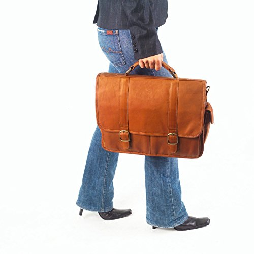 (Clava Leather Classic Executive Briefcase)