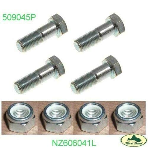 DRIVESHAFT PROPELLER BOLT NUT SET x8 DISCOVERY I /& II LR045409 NZ606041L AM