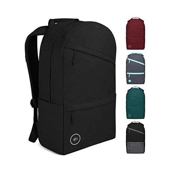 Zrui Slim Laptop Backpack for Men Waterproof Travel Backpack Business backpack